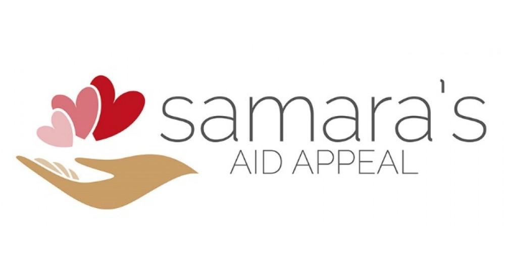 'Italian Mums of Reading' Sostiene 'Samara's Aid Appeal'